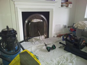 Chimney sealed & being swept in Wanstead