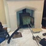 Logburner sealed & swept in Woodford