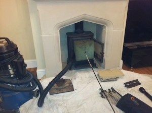 Logburner sealed & swept in Wanstead