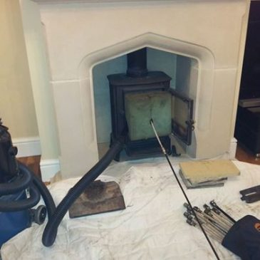 Chimney sweep in Woodford