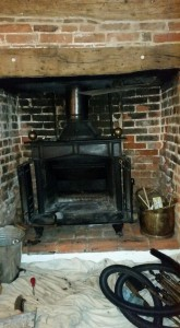 Log burner Theydon